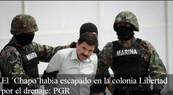 Fotos y video de arresto del Chapo Guzman