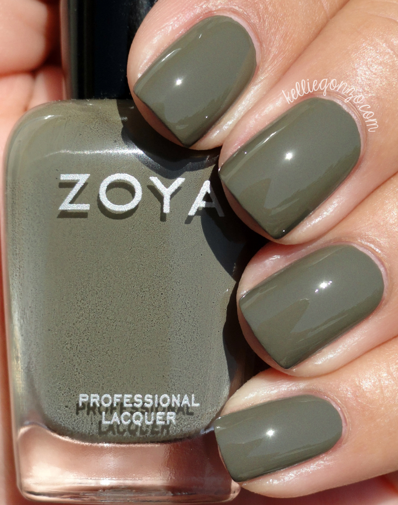 KellieGonzo: Zoya Fall 2015 Focus Collection Swatches & Review
