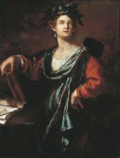 Clio, la musa de la Historia (por Artemisia Gentileschi)