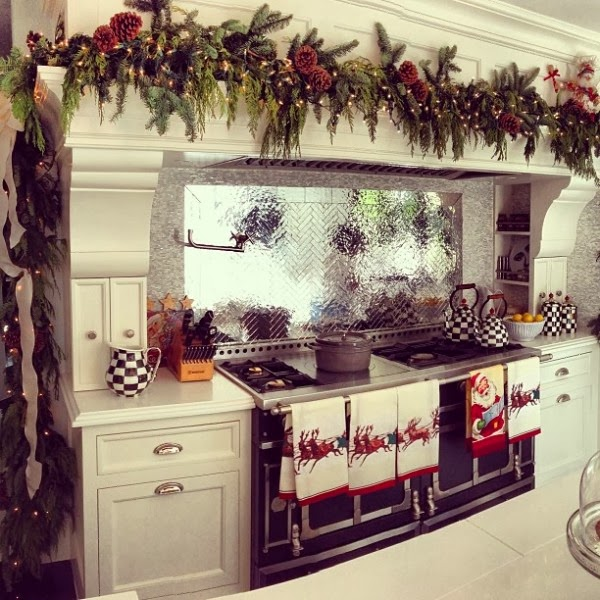 Dcoration Cuisine Pour Le Nol Dcor De Maison