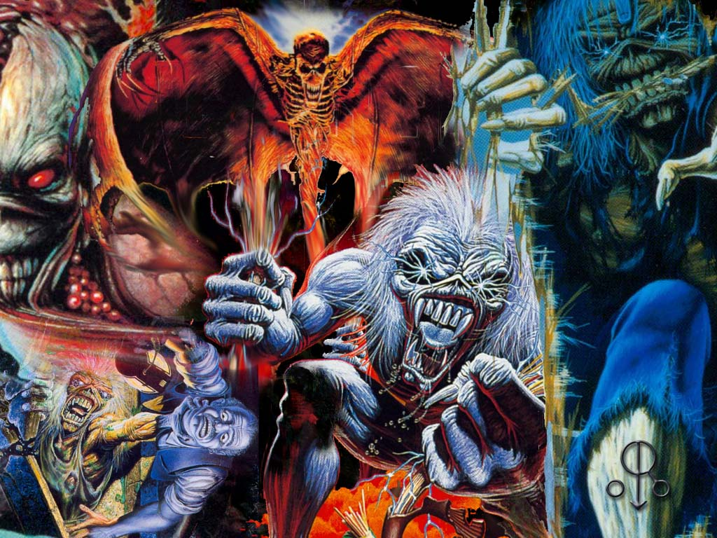 iron maiden wallpaper widescreen