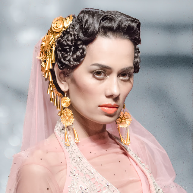 Suneet Varma India Bridal Fashion Week 2013 The Golden Bracelet, Sonalika Sahay