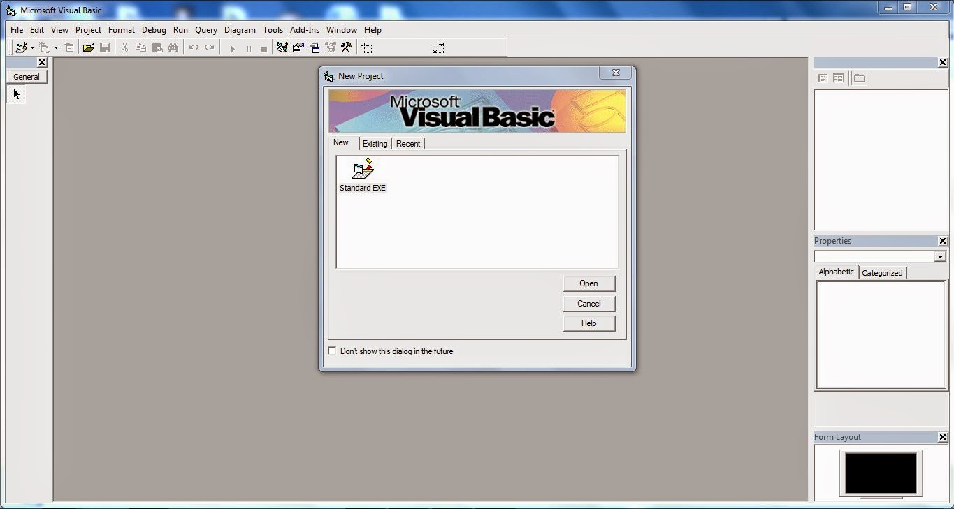 visual basics portable