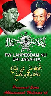 banner berdiri pw lakpesdam nu dki jakarta