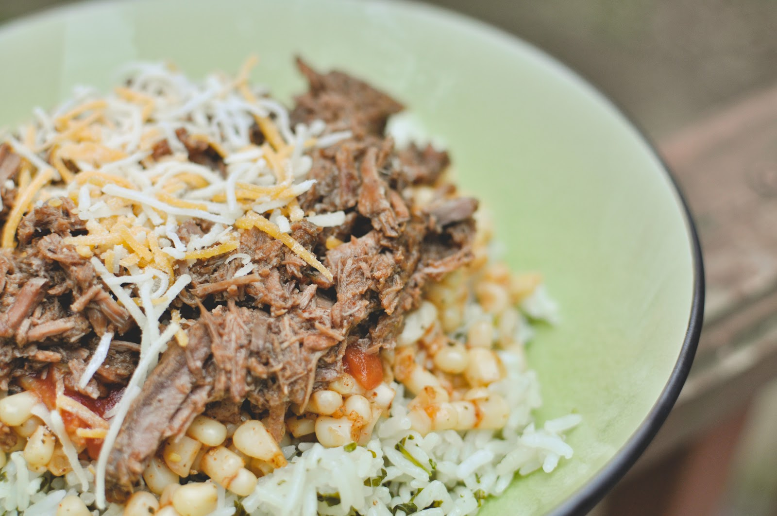 my Chipotle burrito is their Barbacoa Beef. it's a spicy shredded beef ...