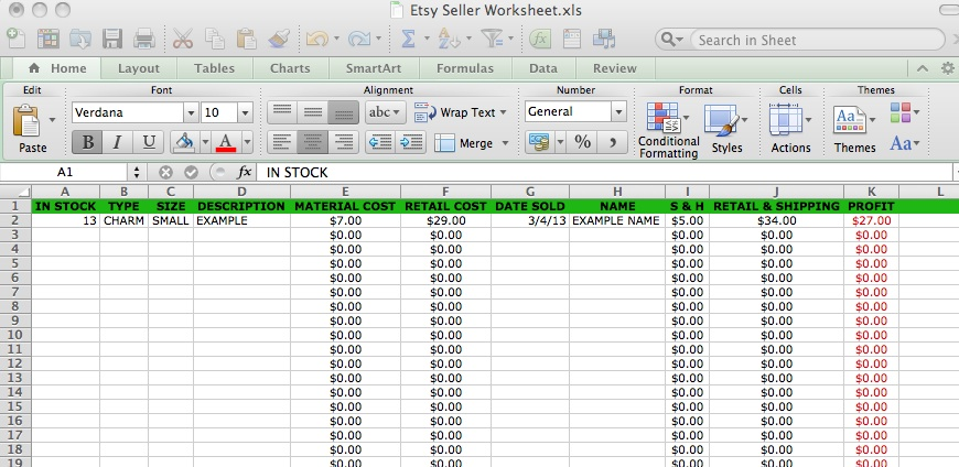 Beth Hemmila of Hint Jewelry: Pricing Jewelry & Excel Spreadsheets