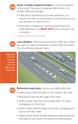 Snippet from page 44 of the NI Highway Code