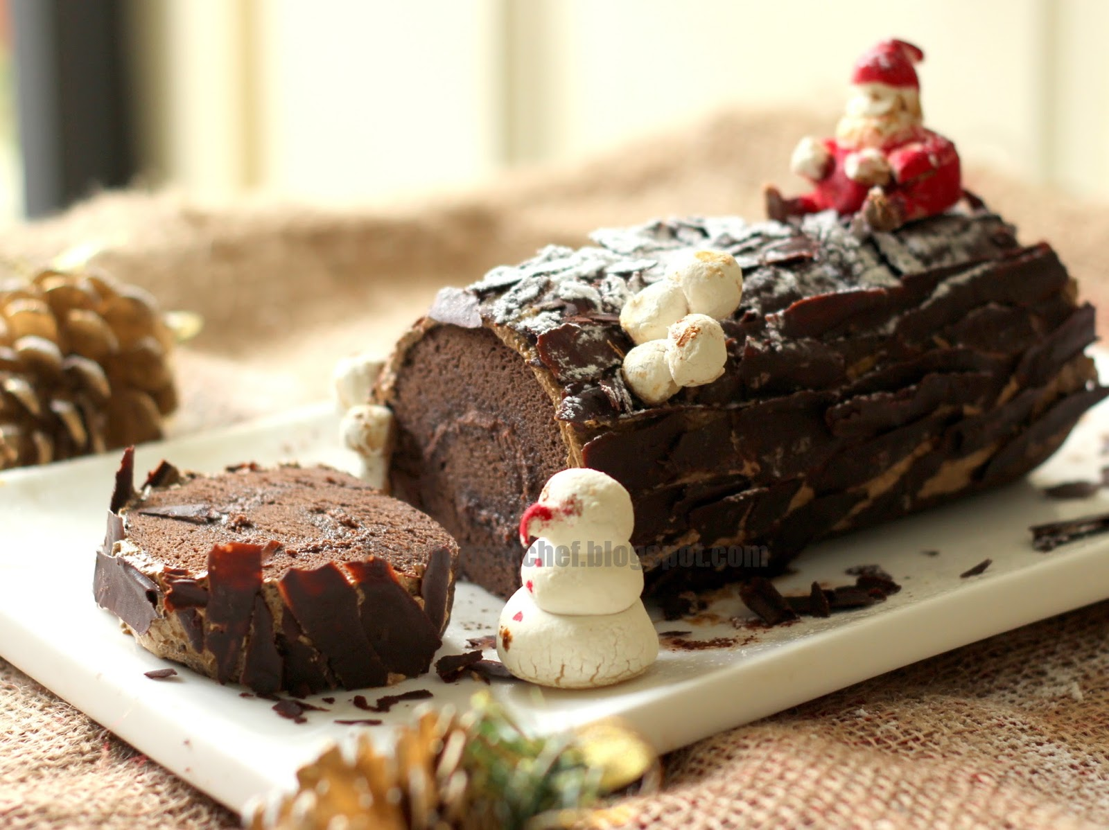 What Is A Yule Log Cake