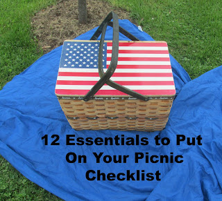 12 Essential to Put on Your Picnic Checklist Vickie's Kitchen and Garden