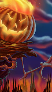 free download halloween iphone5 wallpaper