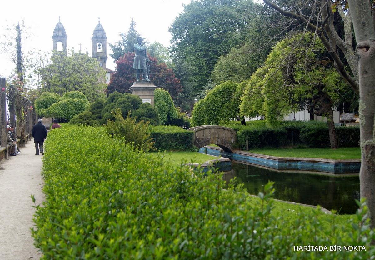 Santiago de Compostela park