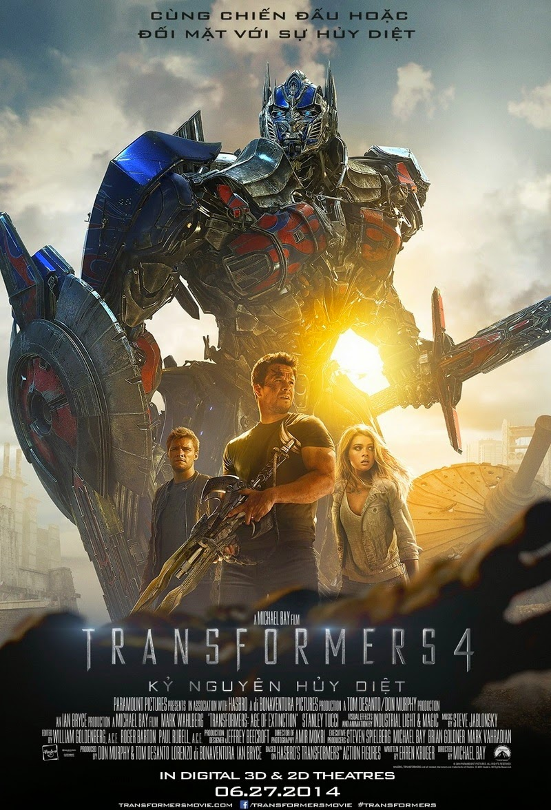 Transformers 4: Age of Extinction 2014