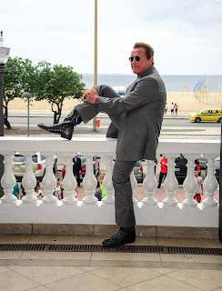 Arnold Schwarzenegger - Entrevista coletiva