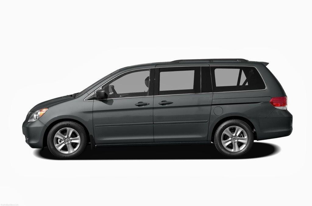 All New Honda Odyssey Photos