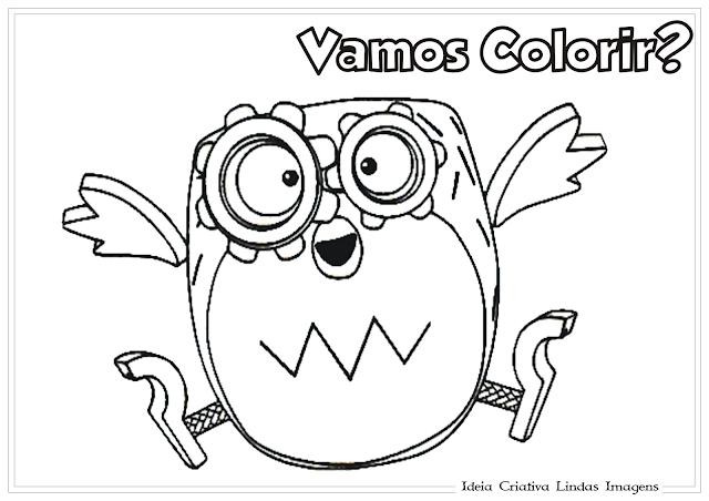 Tickety Toc Tooteroo desenho para Colorir