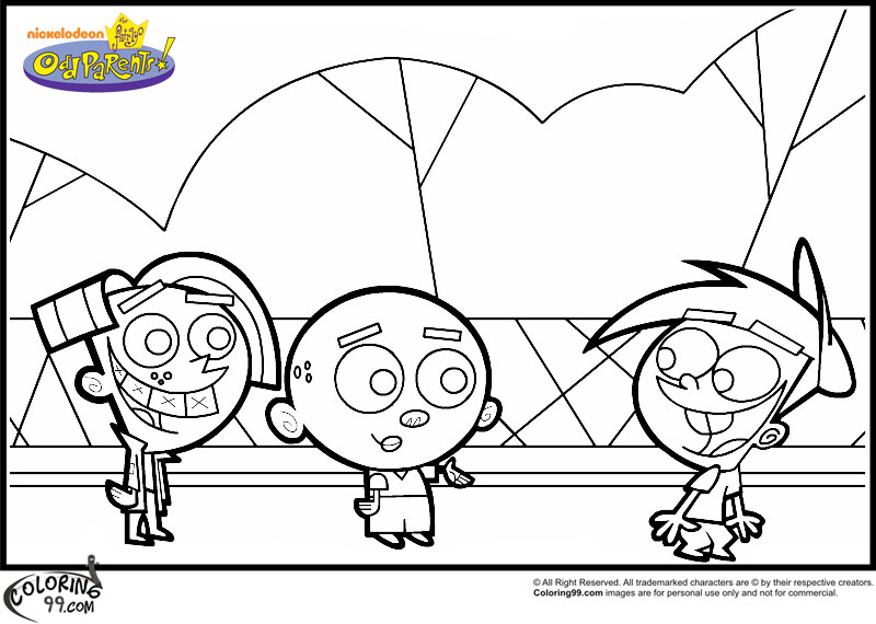 timmy the tooth coloring pages - photo#29