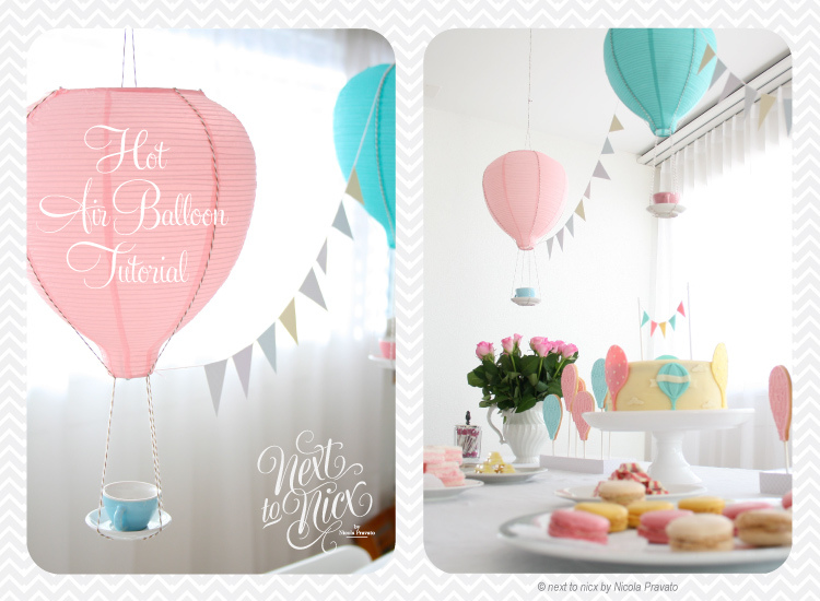 Balloon zilla pic hot air balloon decorations for Baby shower decoration ideas with balloons