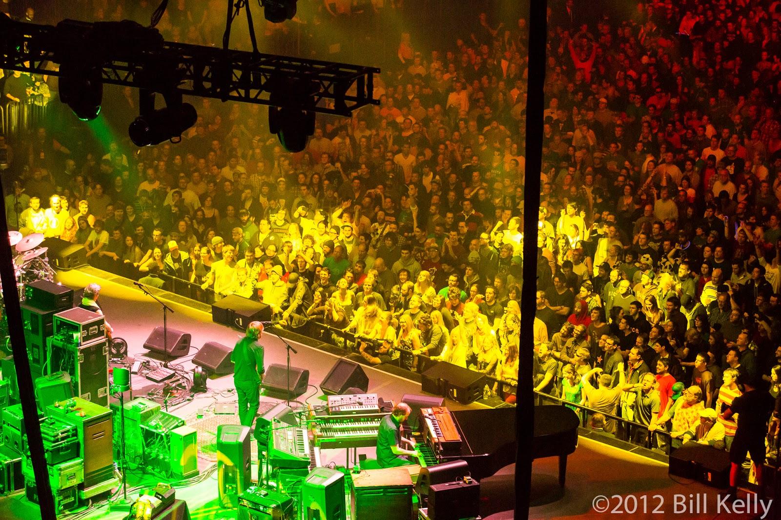 PHISH at Madison Square Garden - 12.28.12 ~ Concert Photos Magazine ...