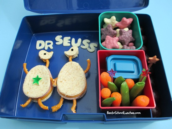 Bento School Lunches Dr.Seuss The Sneetches bento
