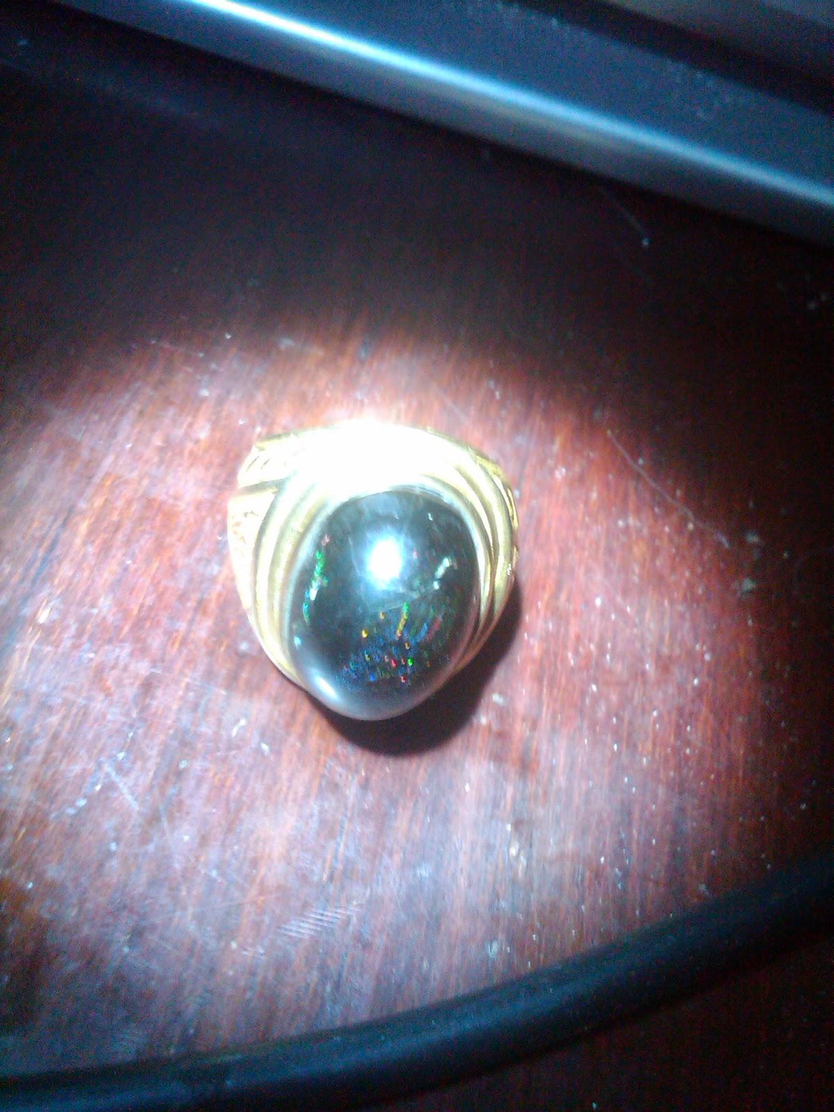 Batu Cincin Black Opal  Banten Sempur
