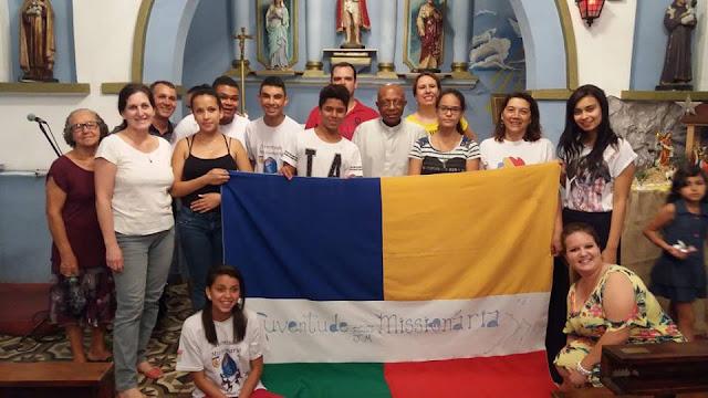 Juventude Missionária da Diocese de Guarulhos reza pela canonização de Paulina Jaricot