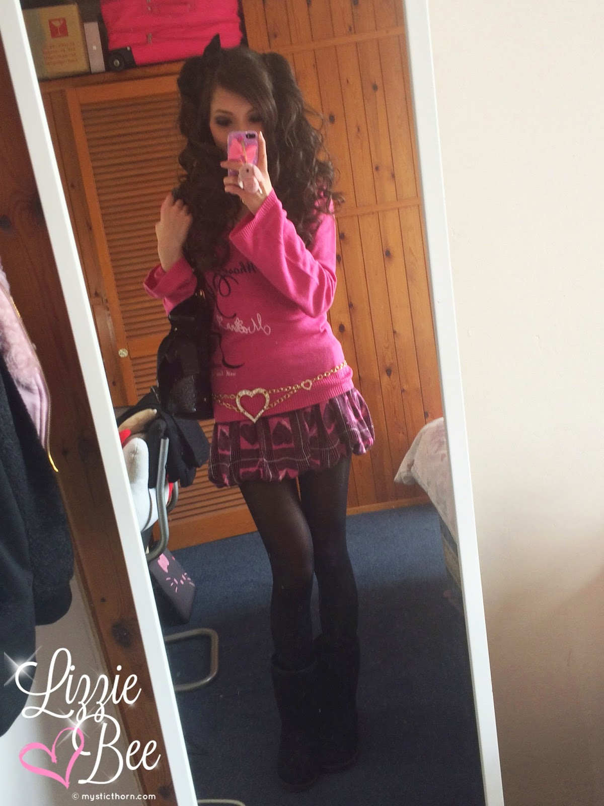 agejo gyaru coord outfit
