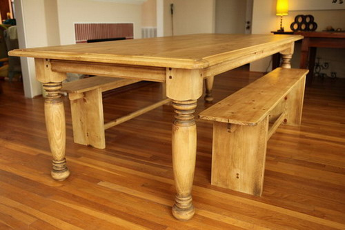 Different types and styles of farmhouse kitchen tables design home design gallery - Elegant kitchen table sets ...