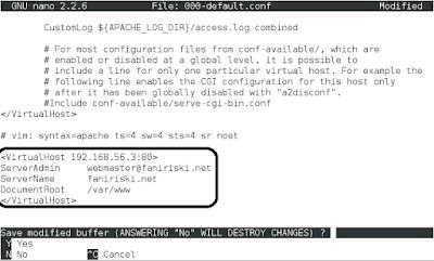 Konfigurasi Web Server Debian 8 (3)