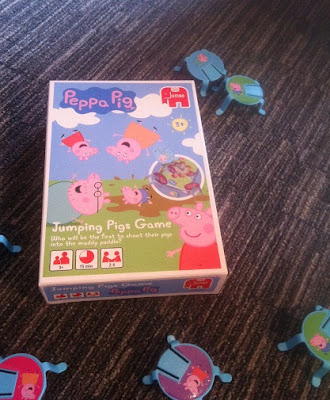 Jumpig Pigs game, peppa pig