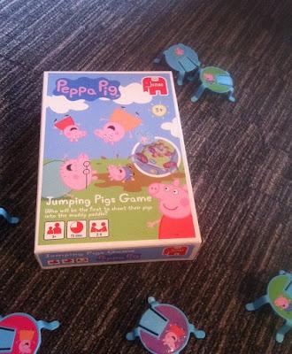 Jumpig Pigs game, peppa pig