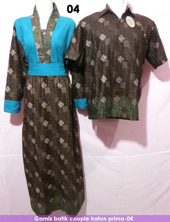 Gamis Batik Couple Kode 04