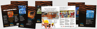 EJW Client Tigerflow Brochures redesign project