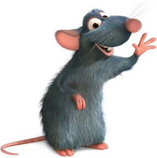 Rata de la película Ratatouille