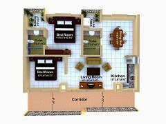 Outsource Floor Plans drawing Services to India
