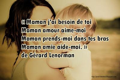 Mot d'amour pour maman