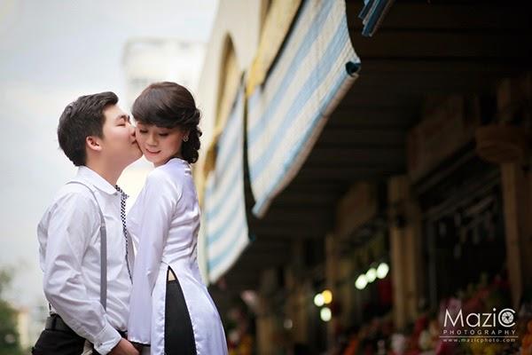 studio chụp hình cưới đẹp ở Sài Gòn chụp ảnh tại chợ bến thành