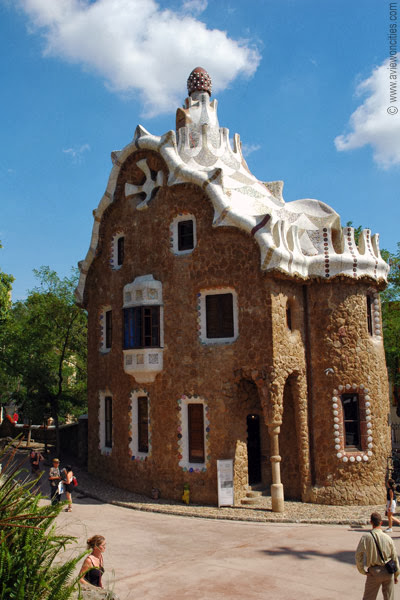 Reception House in Parc Güell