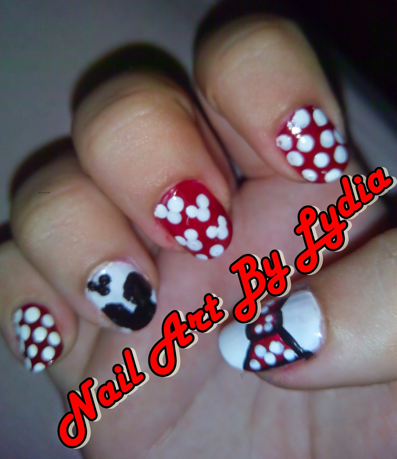 Nail Art By Lydia: Manicura Disney