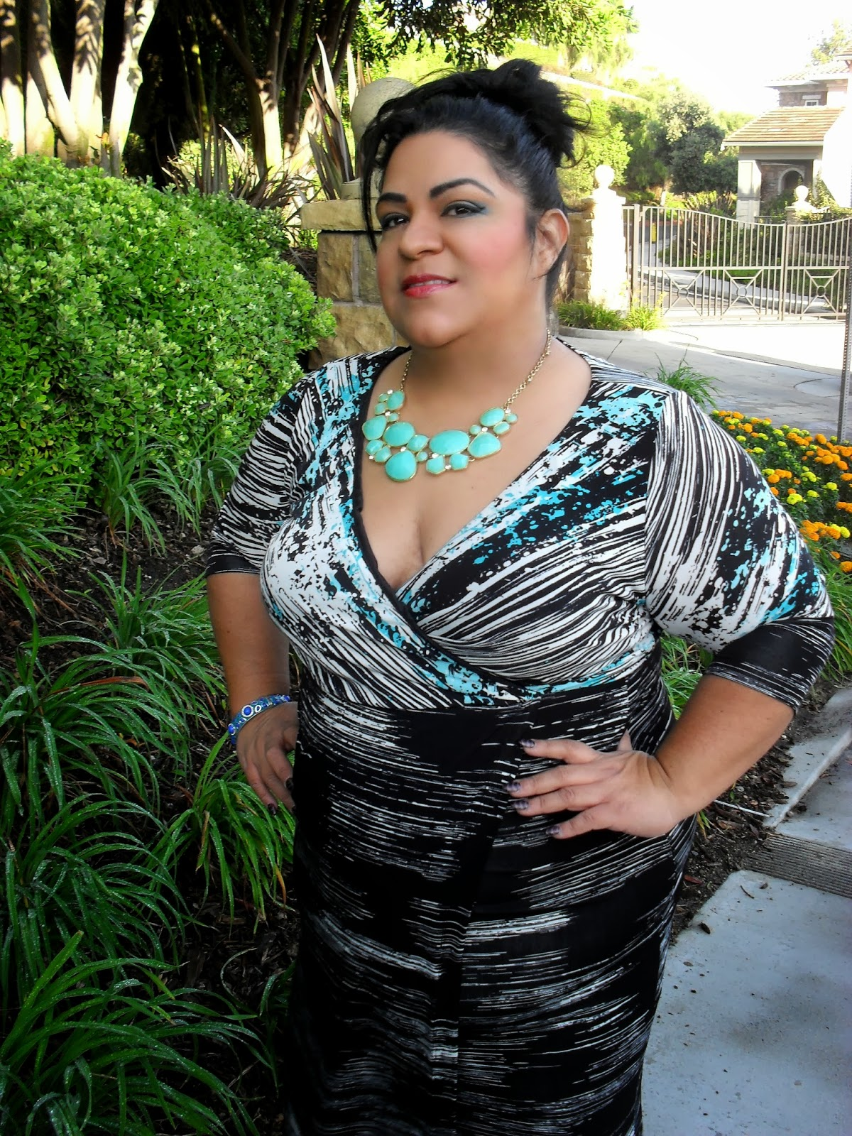 """igigi """"aileen"""" dress made me feel wow all day! (outfit of the day"""