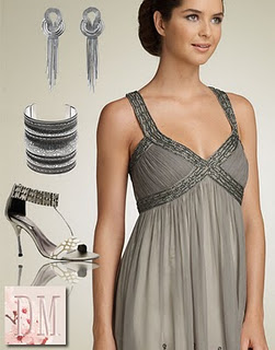 Vestidos de festa de bodas de prata