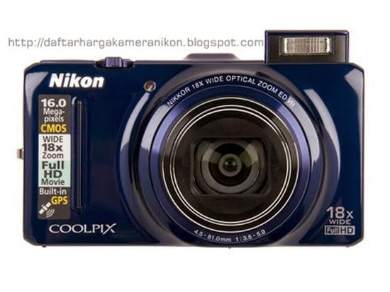 Harga dan Spesifikasi Kamera Nikon Coolpix S9300 Terbaru