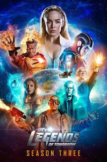 Legends of Tomorrow Temporada 3 audio latino
