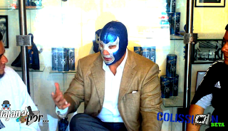 Entrevista Blue Demon Jr