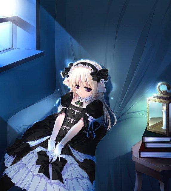 Blinding sparks imagenes de chicas animes - Image de manga triste ...
