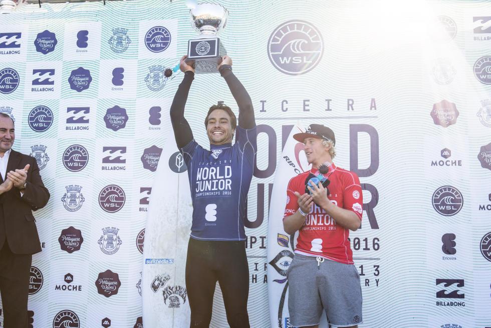3 Lucas Silveira Ericeira World Junior Championships Foto WSL Poullenot Aquashot