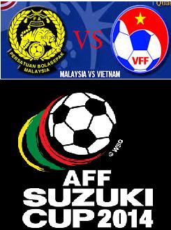 Live streaming Malaysia vs Vietnam Separuh Akhir Piala AFF Suzuki 2014