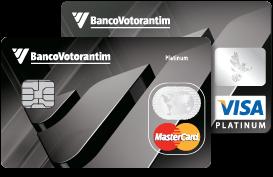 cartão Banco Votorantim Platinum