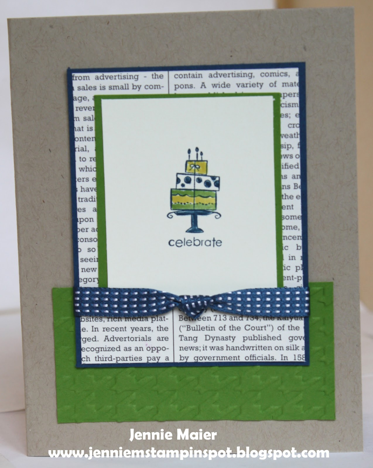 jennie m 39 s stampin spot masculine birthday card for a sketch. Black Bedroom Furniture Sets. Home Design Ideas