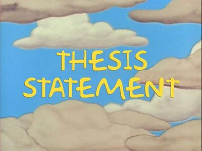 thesis writing 1 syllabus