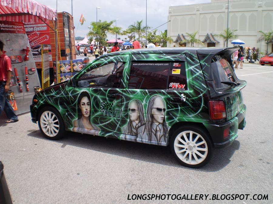 The Matrix Kancil Autoshow Car